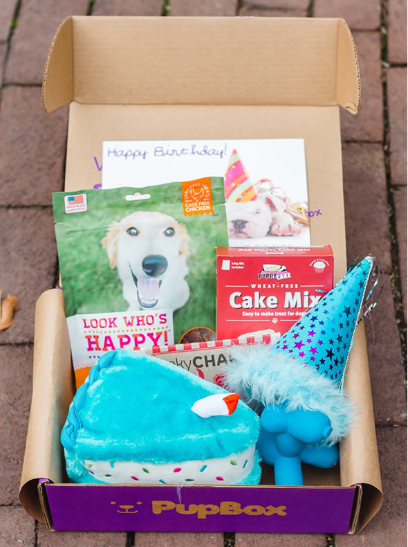 PupBox Happy cake box
