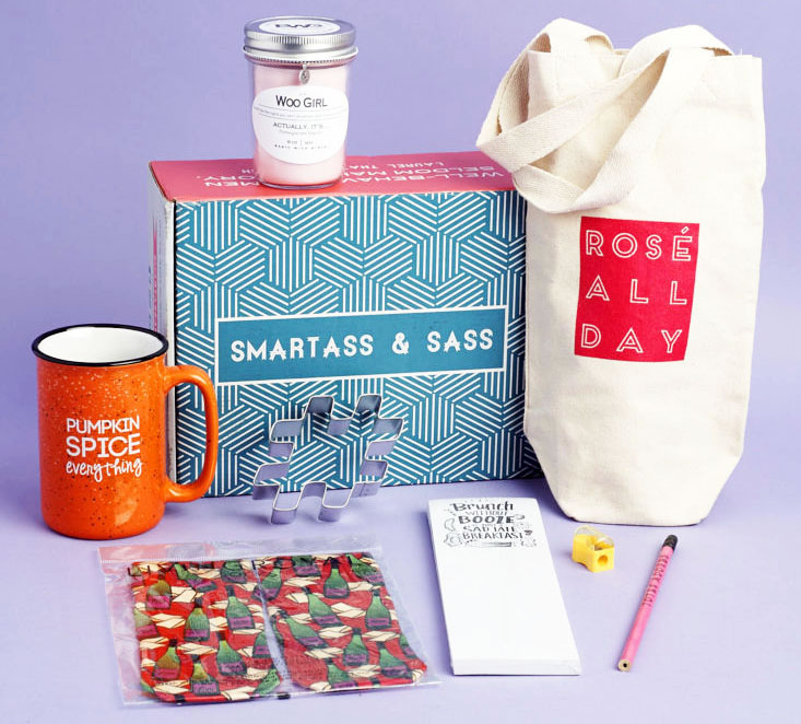 Smartass & Sass Subscription Box