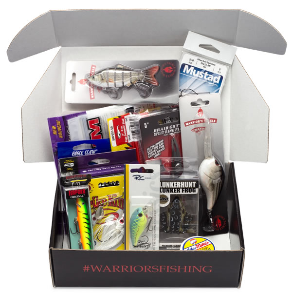 Warriors Tackle Supply Box Transparent