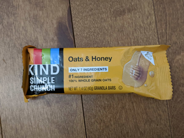 Kind Bar Simple Crunch